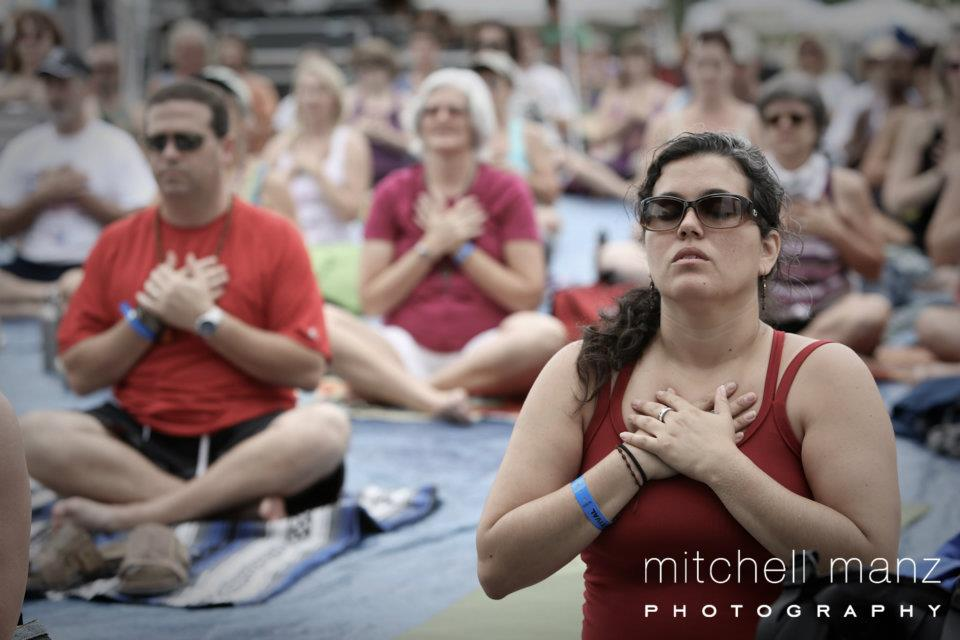 Kai Chi Do at Bhaktifest: Photojournal - Connecting with the Heart