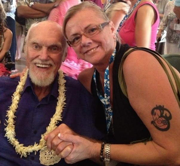 Ram Dass and Marty Lehrer